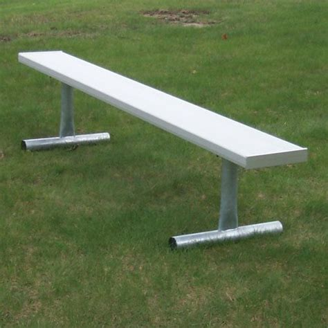 aluminum benches outdoor aluminum bench outdoor 21 ft