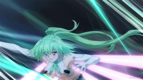 green heart hyperdimension neptunia  azumimoe