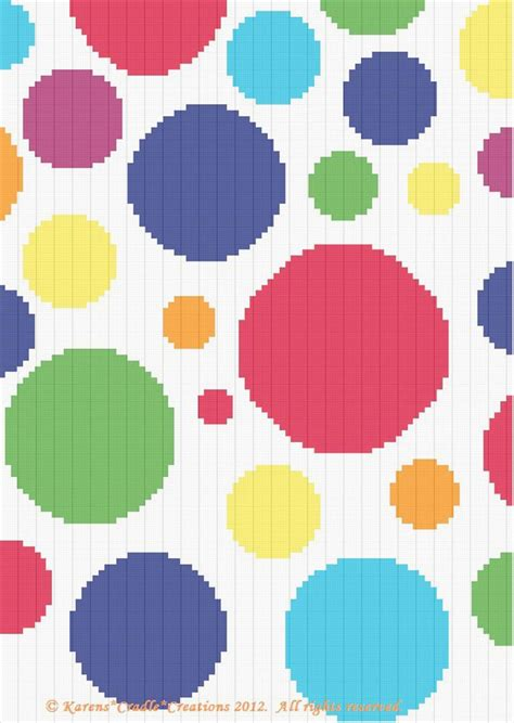 dot pattern graph 659 best crochet blankets and pillows images on pinterest