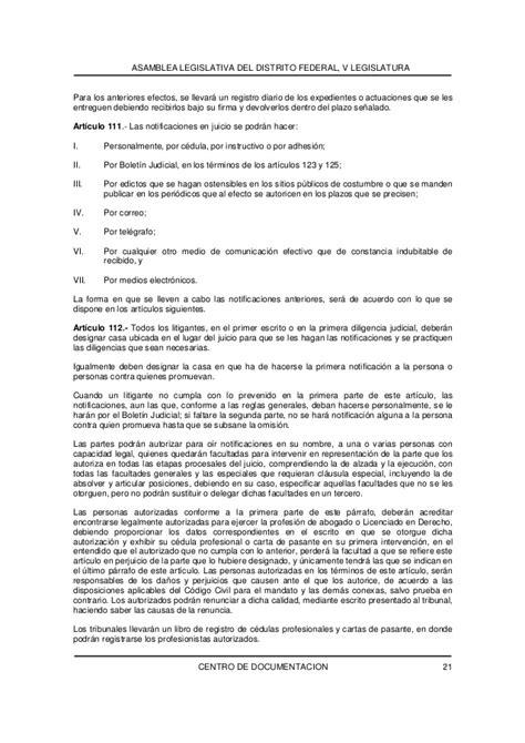 codigode procedimientos civiles para el d f 2016 codigode procedimientos civiles para el d f 2016 codigo de