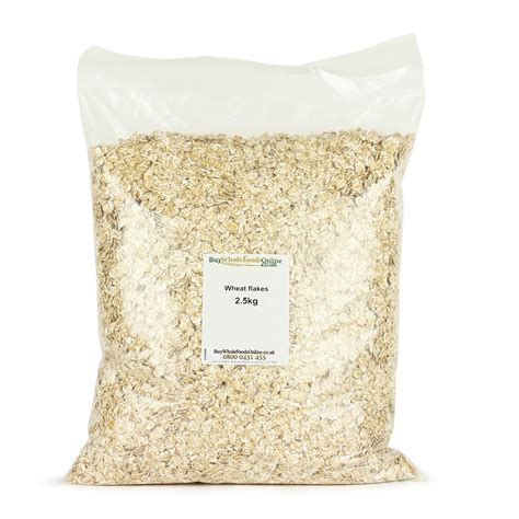 Whole Wheat Lazetta 2 5kg wheat flakes 2 5kg