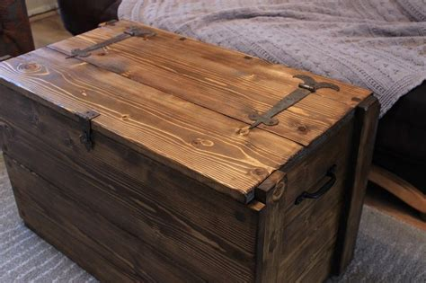 wooden chest coffee tables rustic wooden chest trunk blanket box vintage coffee table