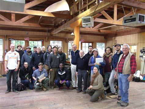 nw boat school halsey herreshoff presents to students at northwest school