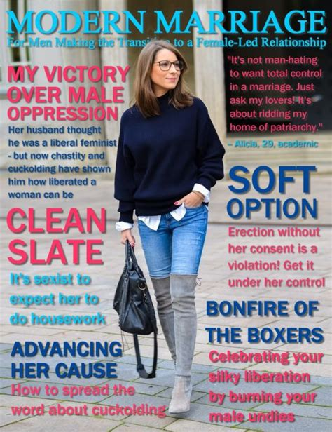 forced womanhood feminized husbands magazines 58 best images about magazine covers on pinterest
