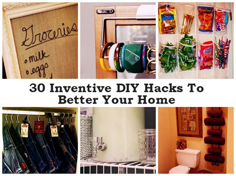 inventive diy hacks    home  find fun