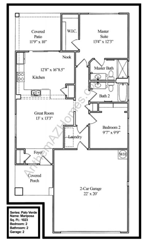 country club floor plans mariposa