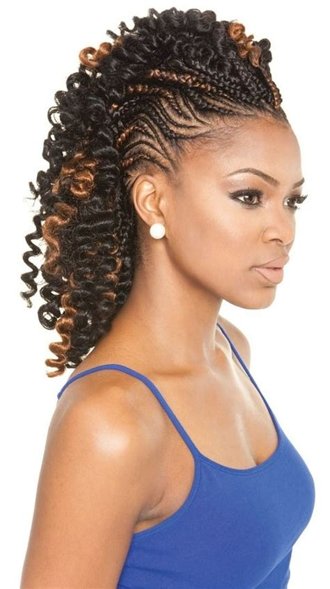 Mohawk Hairstyle For Black With Braids by 353 Best Braided Hair Styles I Like Images On