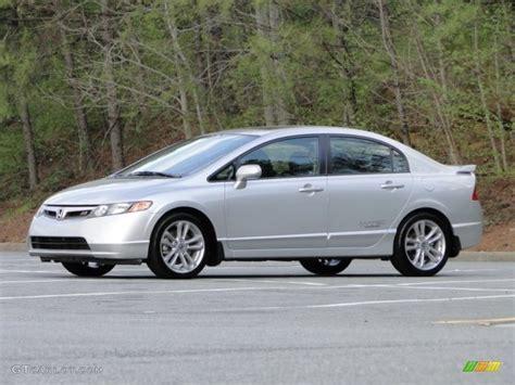 Sapi Honda Civic Si Silver alabaster silver metallic 2008 honda civic si sedan exterior photo 79518872 gtcarlot