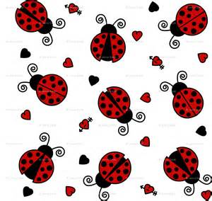 Pink Flower Wall Stickers cute ladybug wallpaper wallpapersafari