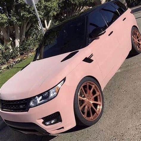 matte gold range rover best 20 pink cars ideas on pinterest pink cars