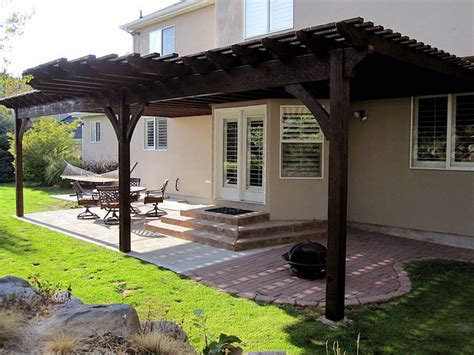 attached pergola pictures teds woodworking reviews
