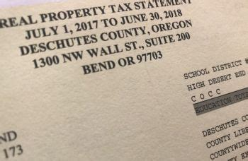 Deschutes County Property Tax Records Deschutes Co Assessor Answers Tax Questions