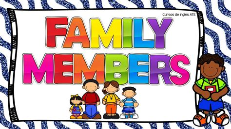 imagenes de la familia ingles la familia en ingl 201 s y su pronunciaci 211 n
