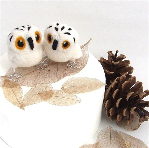 owl toppers mini owl wedding cake topper by feltmeupdesigns notonthehighstreet
