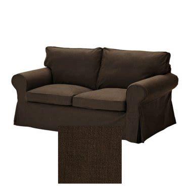 ikea ektorp loveseat slipcover ikea ektorp 2 seat loveseat sofa slipcover cover svanby brown