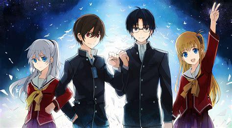 film anime charlotte otosaka yuu charlotte series zerochan anime image board