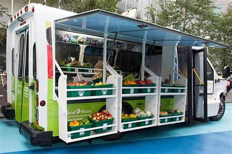 Mobile Food Pantry Truck by Mobile Food Pantry Better Bike Path Turf Field Slated