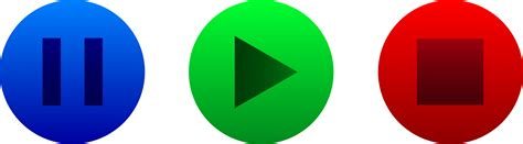 Stop Play by Play Button Clip 65