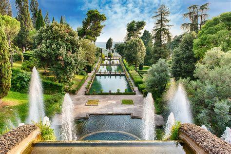 giardini di tivoli roma villa d este trekking di arte e natura alle porte di roma