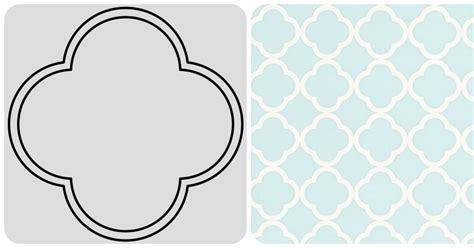 moroccan shapes templates gold white quatrefoil vs moroccan
