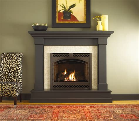 Staining Fireplace by Kenwood Wood Mantel By Heat N Glo Stain Fireplace