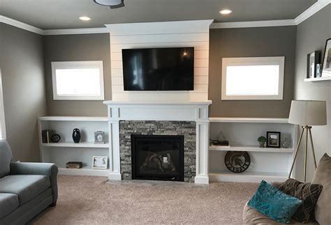 built in shelves fireplace furniture design for your home