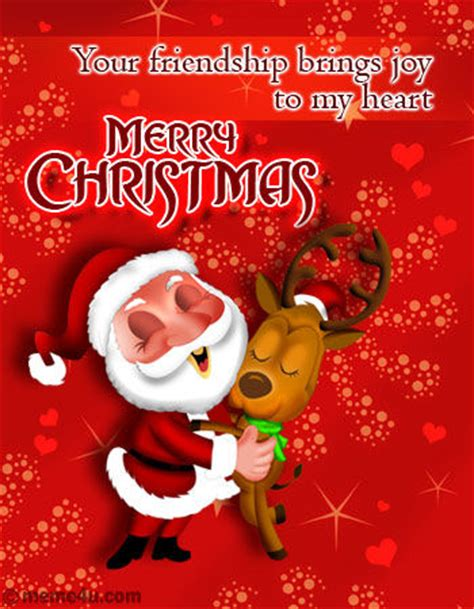 friendship brings joy   heart merry christmas pictures   images  facebook
