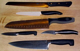 kitchen knives wiki file various cooking knives kyocera henckels mac wiltshire jpg wikimedia commons