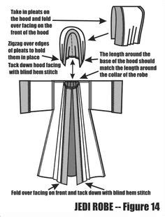 free pattern jedi cloak star wars jedi sewing pattern obi wan anakin skywalker