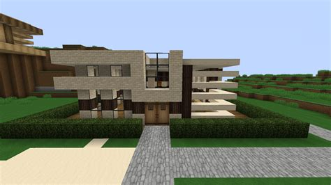 Minecraft Modern Houses by Small Modern House Minecraft Project
