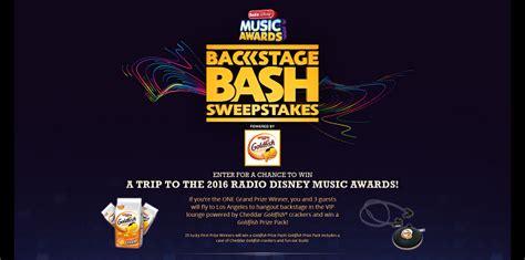 Radio Disney Music Awards Sweepstakes - rdmabackstagebashsweeps com rdma backstage bash sweepstakes 2016