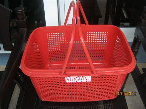 Jual Keranjang Jinjing Bayi jual keranjang belanja plastik jinjing jakarta