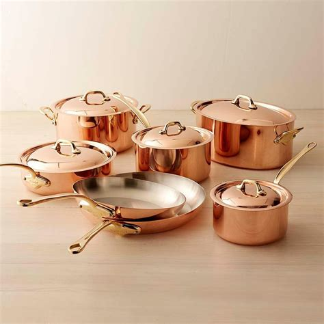 Used Kitchen Knives For Sale mauviel copper 12 piece cookware set williams sonoma au