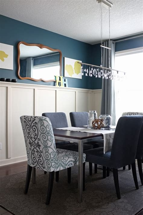 teal dining room teal accent wall dining room native home garden design