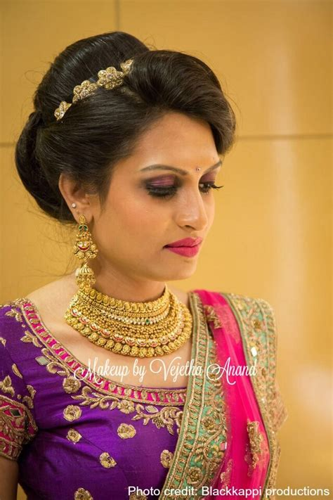 hairstyles for tamil weddings 235 best bridal makeover images on pinterest indian