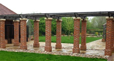 Pillar Decoration Home by Construction Of Brick Pillars Home Building Home
