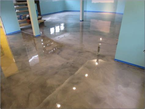 rust oleum metallic floor coating flooring home design