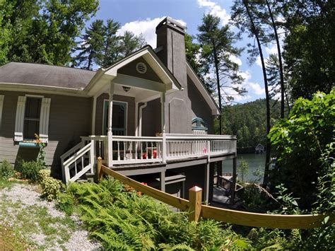 Lake Burton Cabin Rentals by Charming House On Lake Seed In Rabun County Vrbo