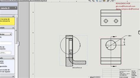 tutorial solidworks nivel basico 3 tutorial de solidworks b 225 sico 10 dibujos youtube