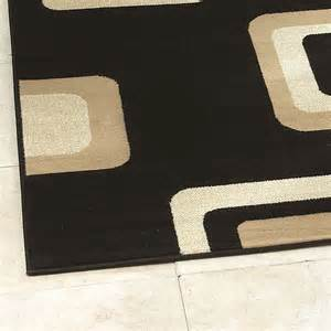 Black Modern Rugs Modern Rug Black 2751 From Rugshop Uk