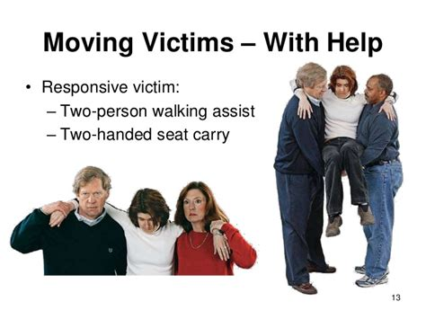 two person chair carry aid lesson carrying