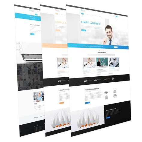modern joomla templates simpli modern and professional business joomla template