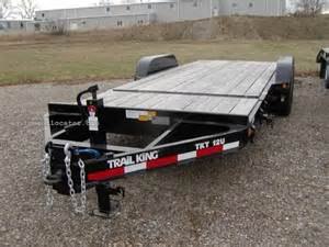 cing equipment sale trail king tkt 12u equipment trailer for sale at