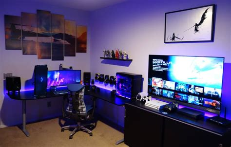 coolest pc rigs 50 amazing pc gaming setups that will make you jealous 2018