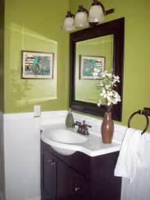 Green And Brown Bathroom » Modern Home Design