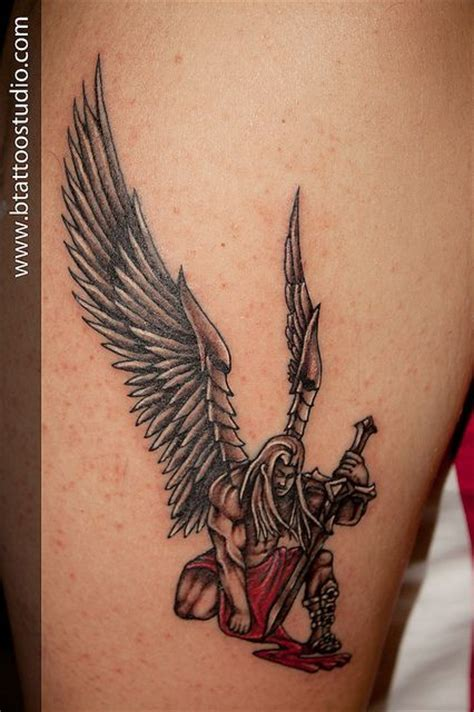 angel warrior tattoo warrior flickr photo tatoo