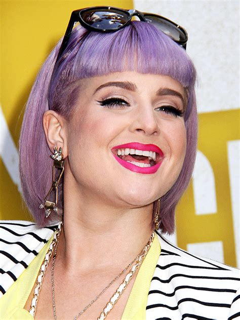 does kelly osbourne wear a purple wig face shapes finding your face shape