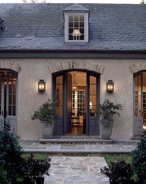 french country home exteriors i love this look french country old stone brick trim