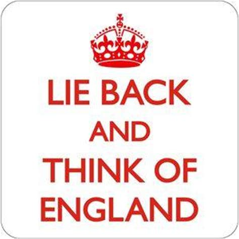think of england lie back think of england drinks mat coaster dm