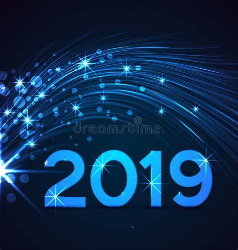 new year 2019 happy new year 2019 stock vector illustration of